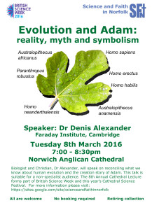 2016 0308 Cathedral Lecture Poster