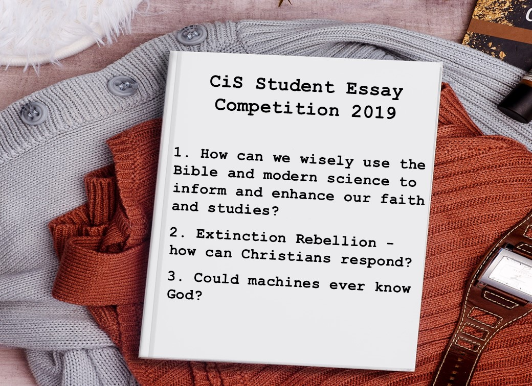 essay competition   christians in science