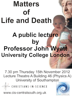 South-Central Event: Matters of Life and Death